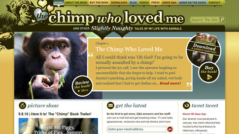 The Chimp Who Loved Me