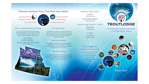 Troutlodge Live Fish Brochure